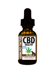 Pet CBD Tincture 600MG Peanut Butter