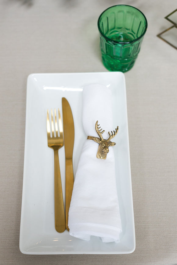 Deer Napkin Rings (set of 12)