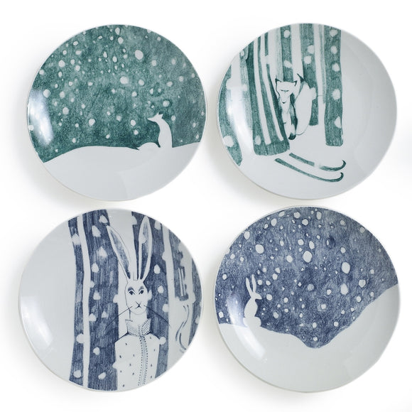 E+E Forest Plate (set of 4)