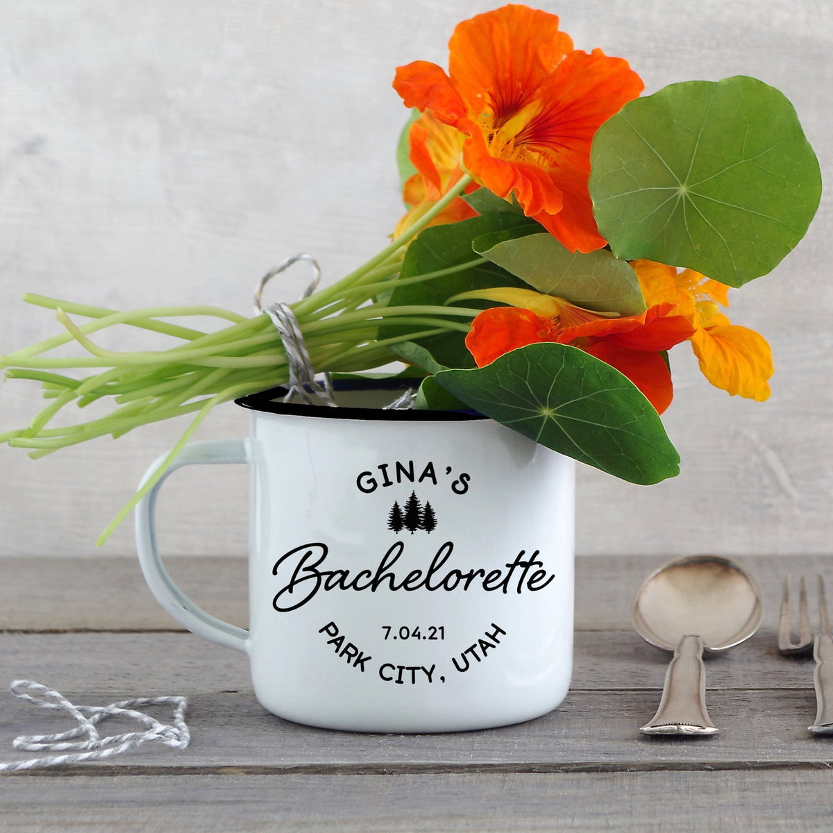 Bachelorette Party Camp Mug