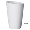 "Mirage 13 x 19.5"" Self Watering Planter White"