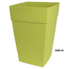 "Harmony 8"" Self Watering Planter Bamboo Green"