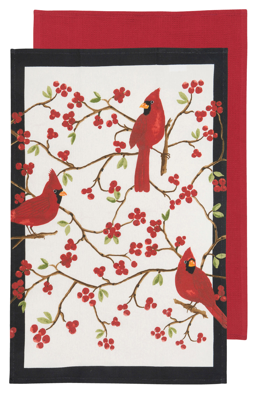 Cardinals Tea Towel