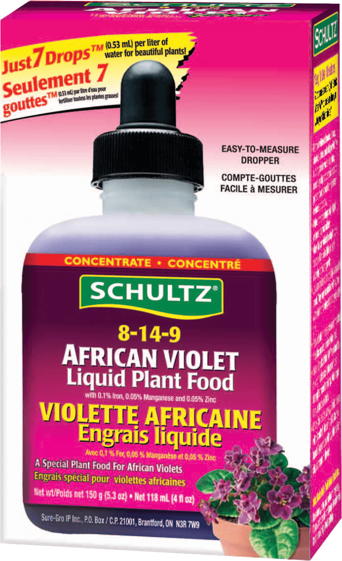 African Violet Liquid Plant Food 150gm