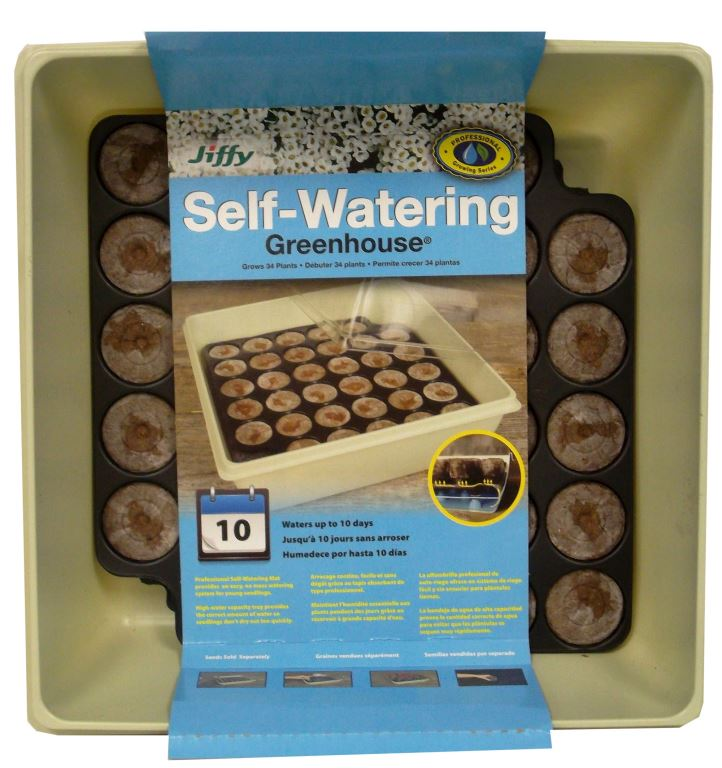 Jiffy Self Watering Greenhouse 34