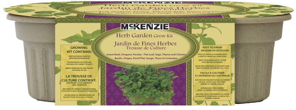 McKenzie Kitchen Herb Grow Kit 6