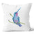 Contemporary Refuge Vibrant Hummingbird Cushion