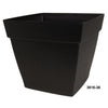 "Harmony 16"" Self Watering Patio Planter Black"