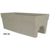 "Harmony 27"" Self Watering Railing Window Box Portabella"