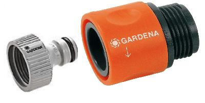 Gardena Tap to Hose Connector Set