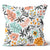 Precious Hints Tropical Garden Coral Cushion