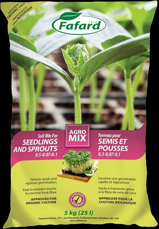 Agro Mix for Seedling & Sprouts 25L