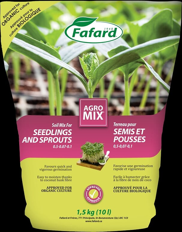 Agro Mix for Seedlings & Sprouts 10L