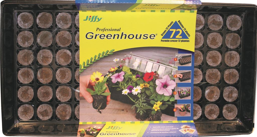 Jiffy Professional Mini Greenhouse 72