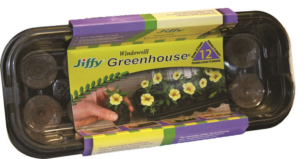 Jiffy Windowsill Greenhouse 12