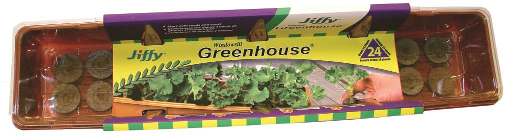 Jiffy Windowsill Greenhouse 24