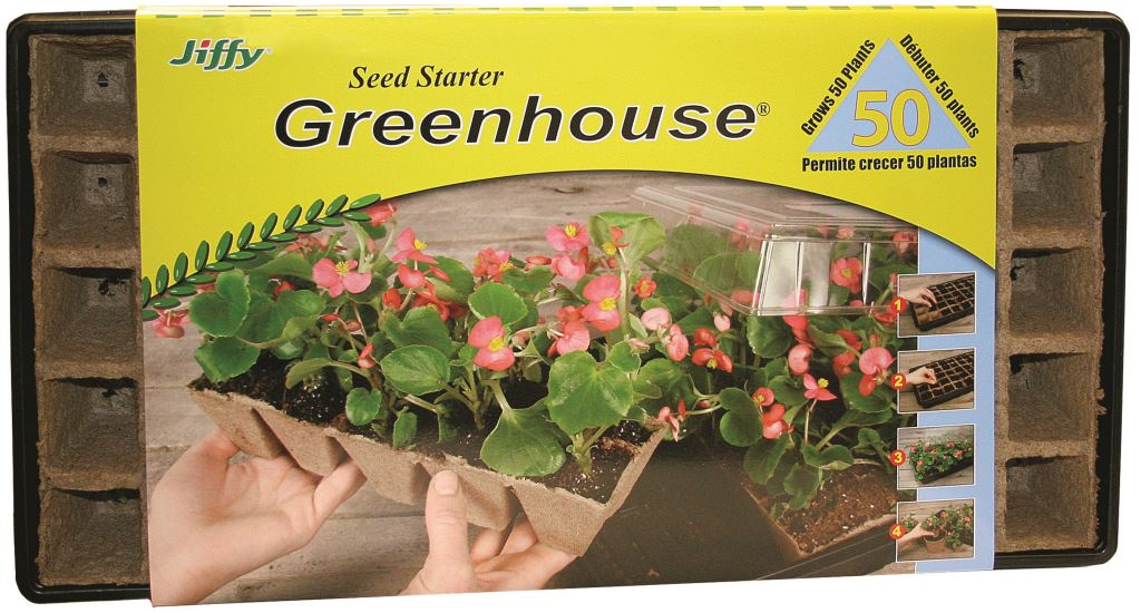 Jiffy Strips Greenhouse 50