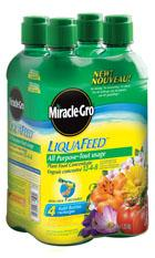 Miracle-Gro® Liquafeed® All Purpose Plant Food Refill 4 Pack