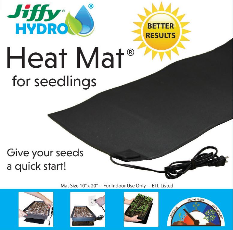 McKenzie Heat Mat Seedlings 10x20""