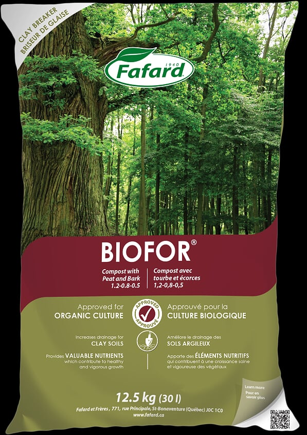 Biofor Compost with Peat and Bark 30L