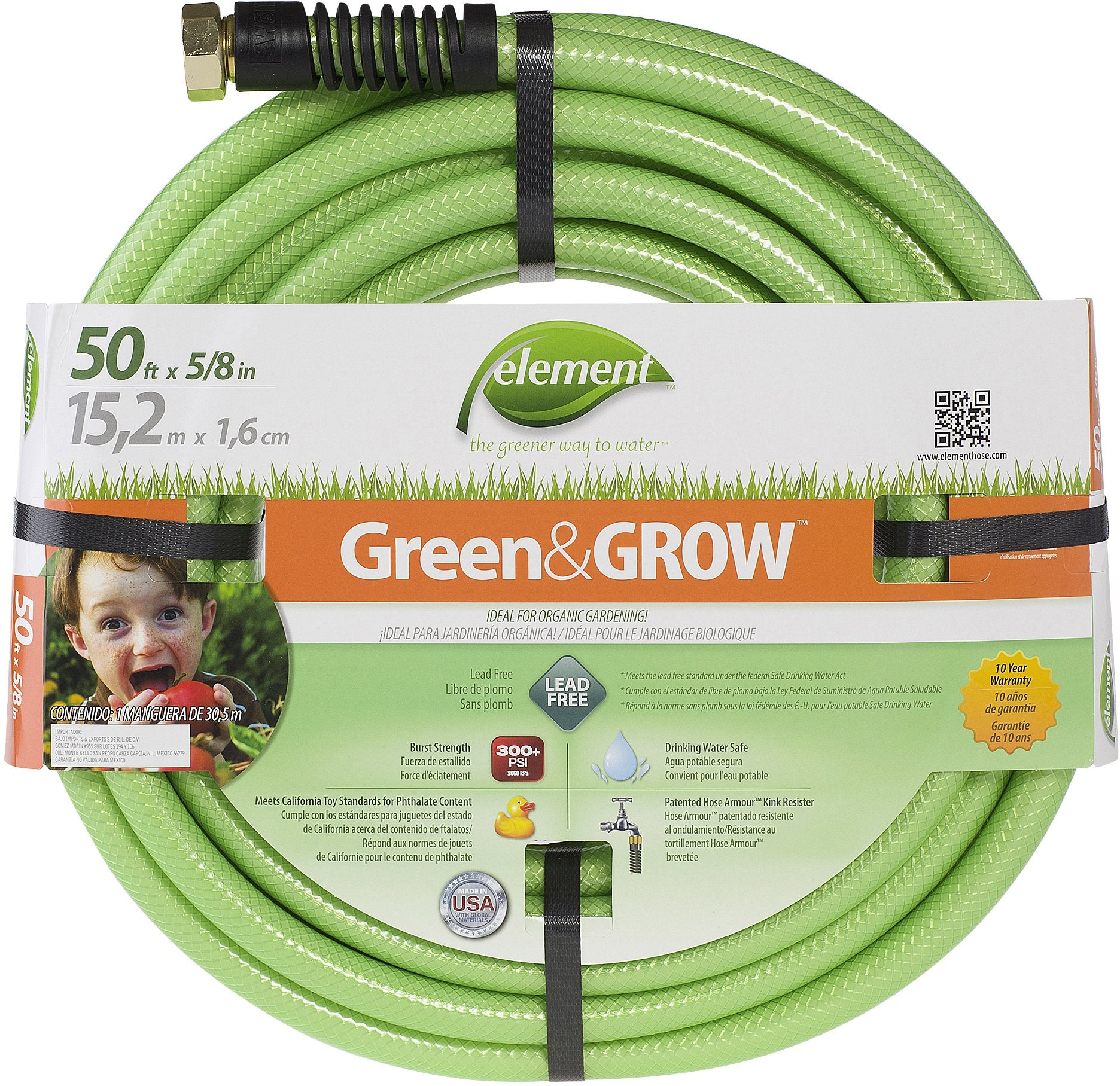 Elements Green & Grow Hose