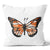 Precious Hints Butterfly Black & Coral Cushion