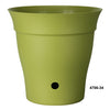 "Contempra 6 x 6""  Self Watering Planter Green"