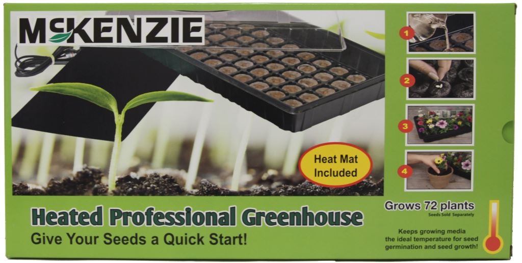 McKenzie Heated Greenhouse