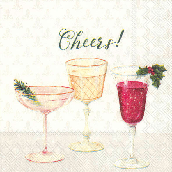 Cheers- Cocktail Napkin