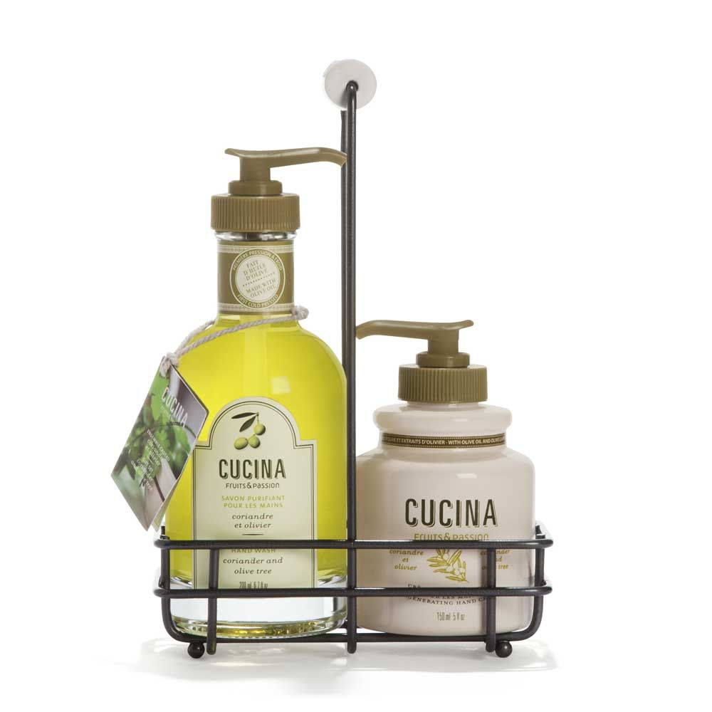 Fruits & Passion Hand Soap/Cream Duo Coriander & Olive Tree