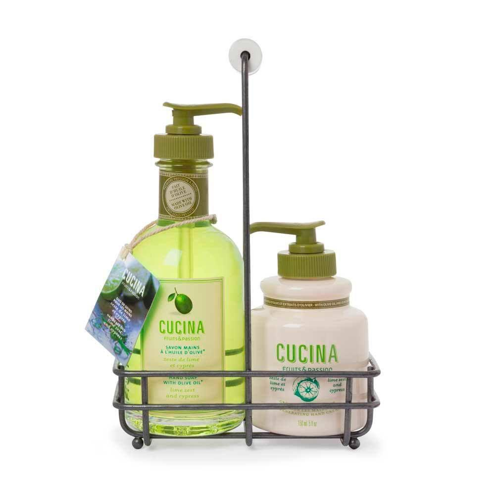 Fruits & Passion Hand Soap/Cream Duo Lime Zest & Cypress