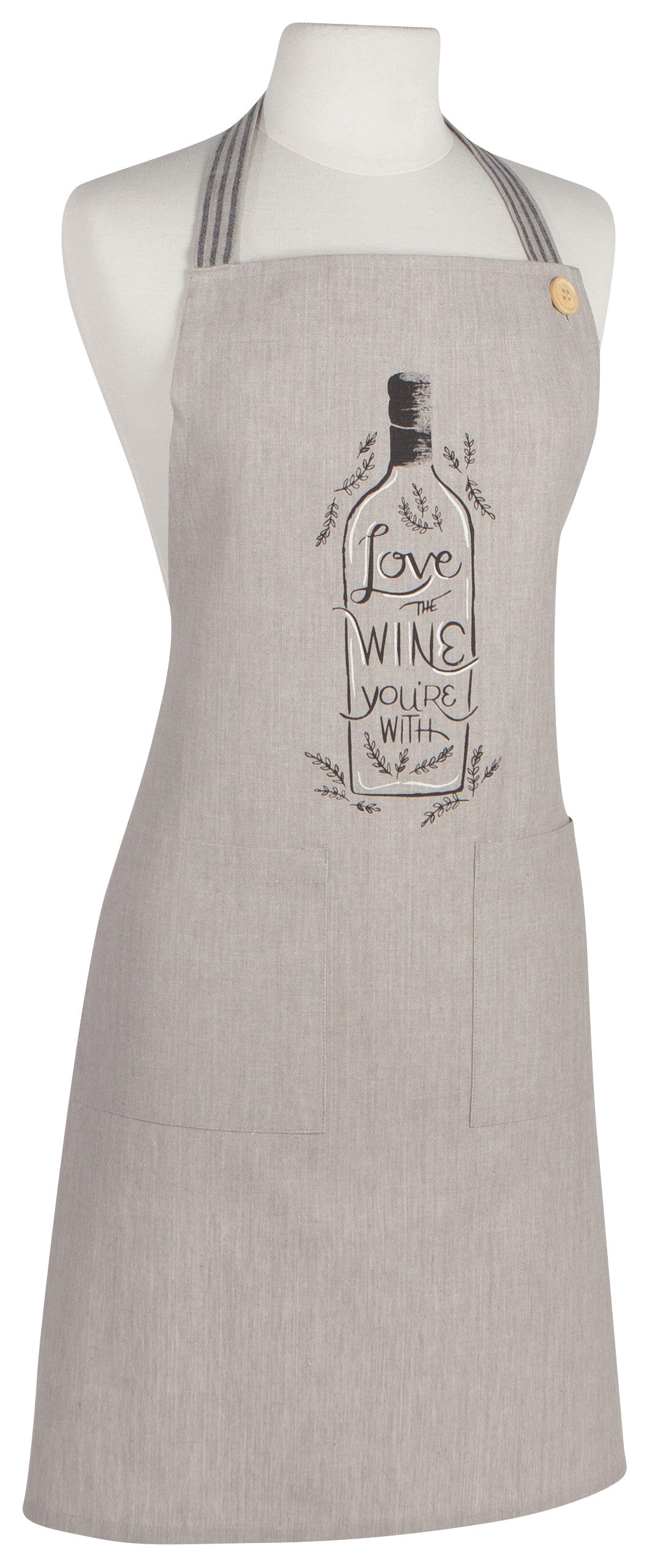 Love Wine You're With Apron