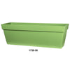 "Viva 30"" Self Watering Window Box Green"