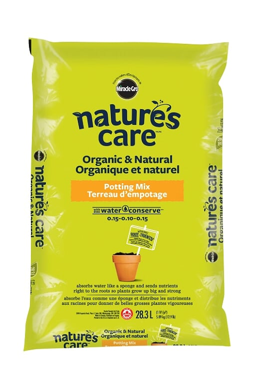 Nature's Care Organic & Natural Potting Mix 28.3L
