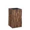 Conway Dark Brown Square Pot - medium