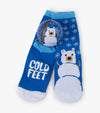 Snow Bear Kid's Socks In Ball