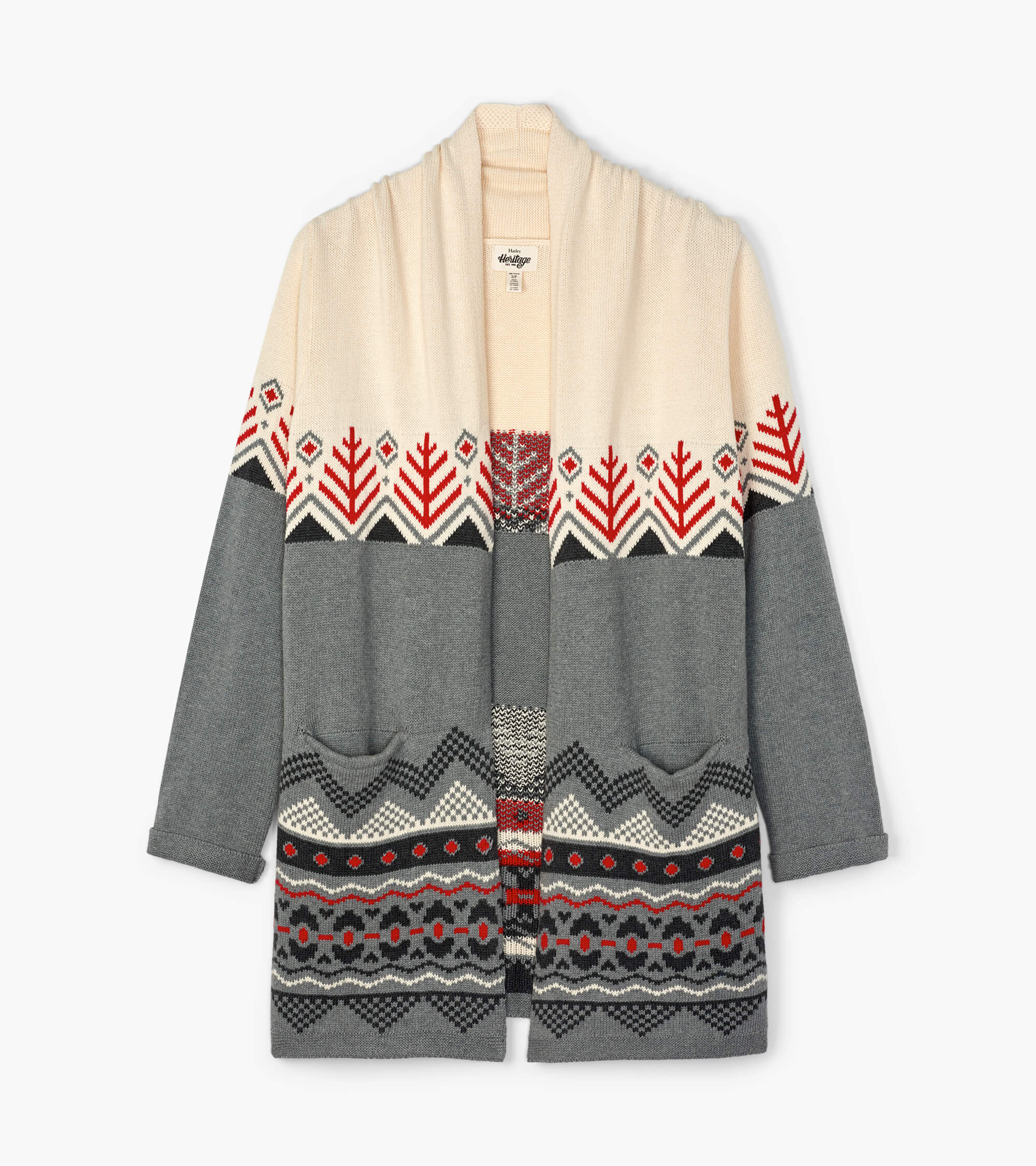 Red Pine Women's Heritage Lodge Cardigan L