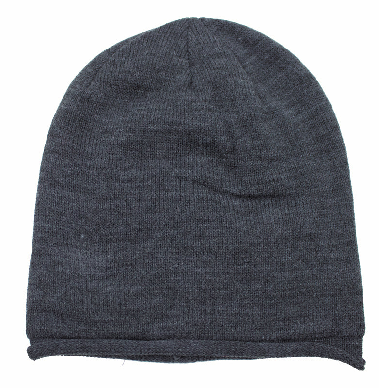 Toque Slouchy Charcoal