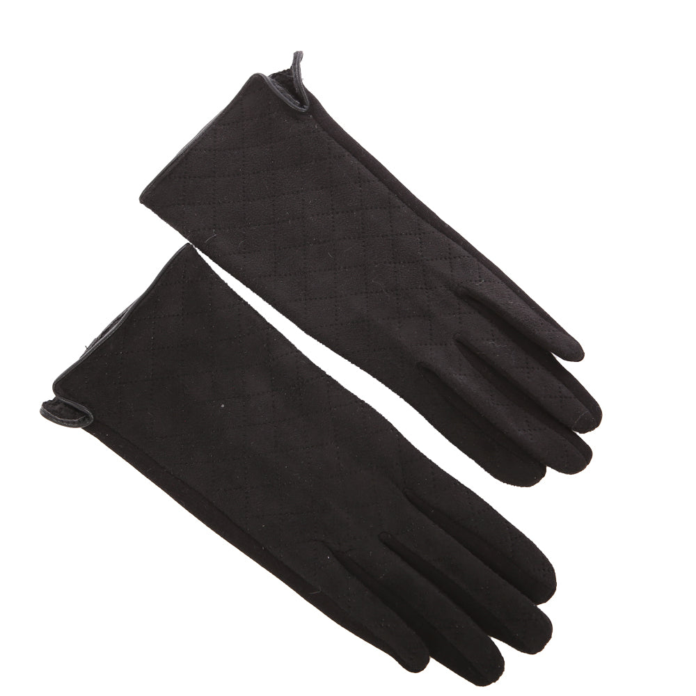 Gloves Ladies Quilt Stitch
