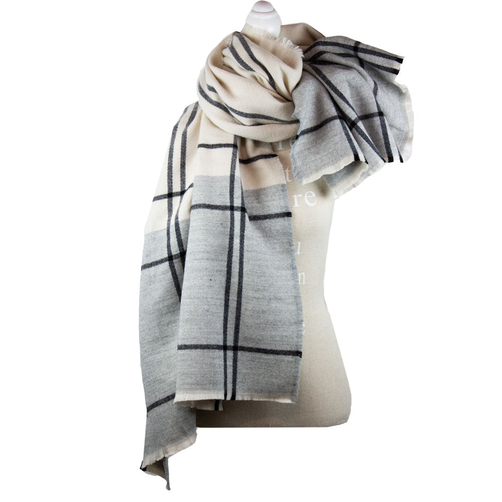 Scarf Oversized Stripes