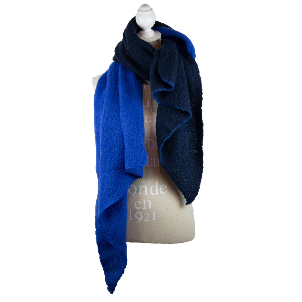 Scarf Oversized Two Tone