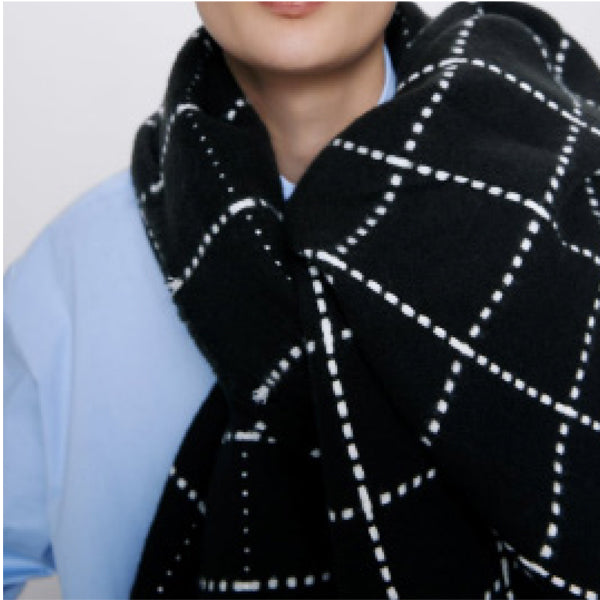 Scarf Oversized Black