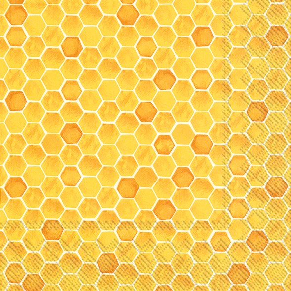 Bee Inspired Yellow - Lunch Napkin
