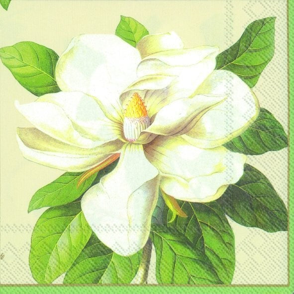 Magnolia Cream - Lunch Napkin