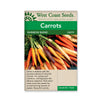 Carrots Rainbow Blend seeds