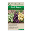 Beans Tricolor Bean Blend Seeds