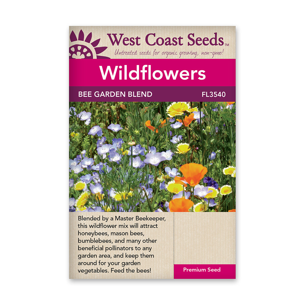 Wildflower Bee Garden Blend Seeds