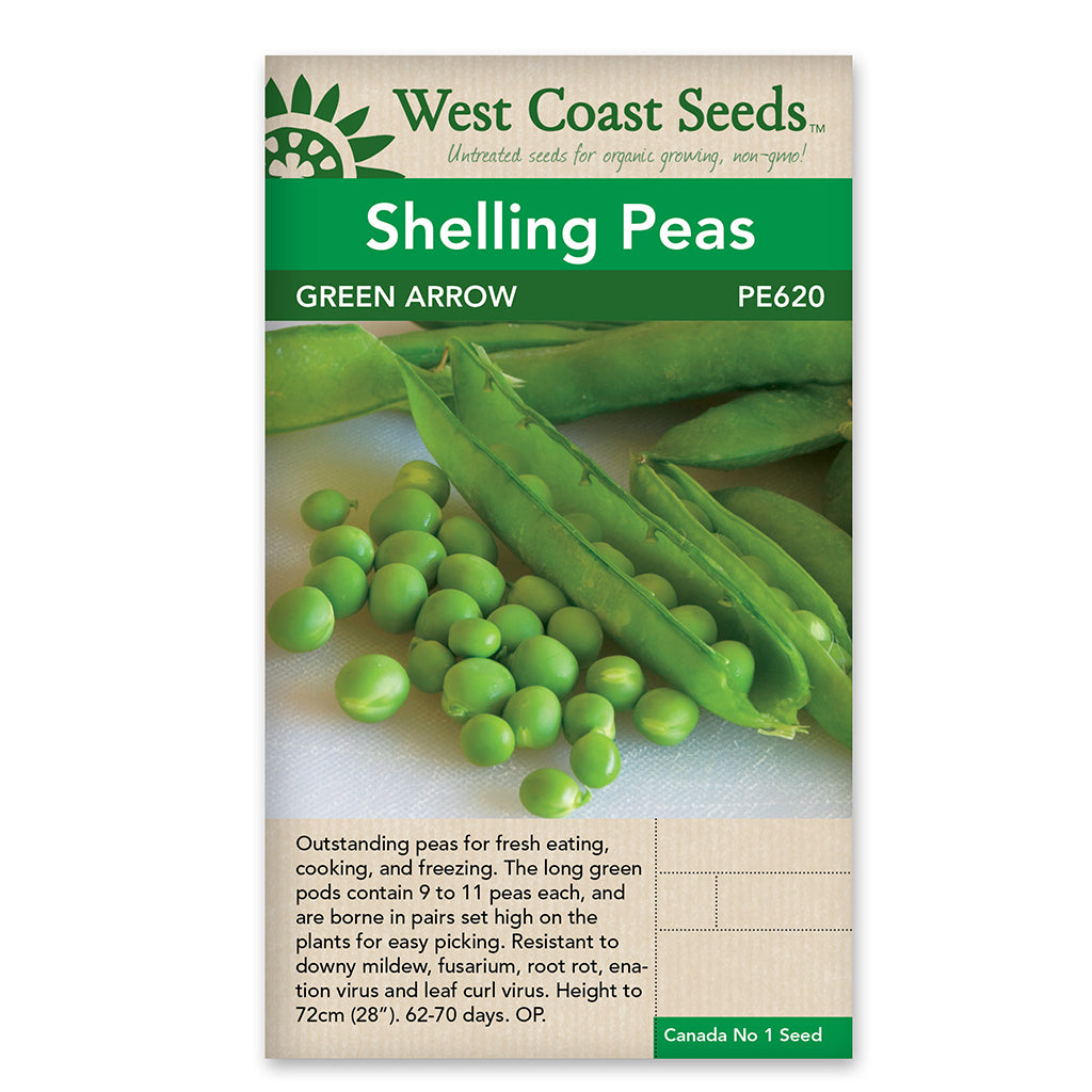 Peas Green Arrow Seeds