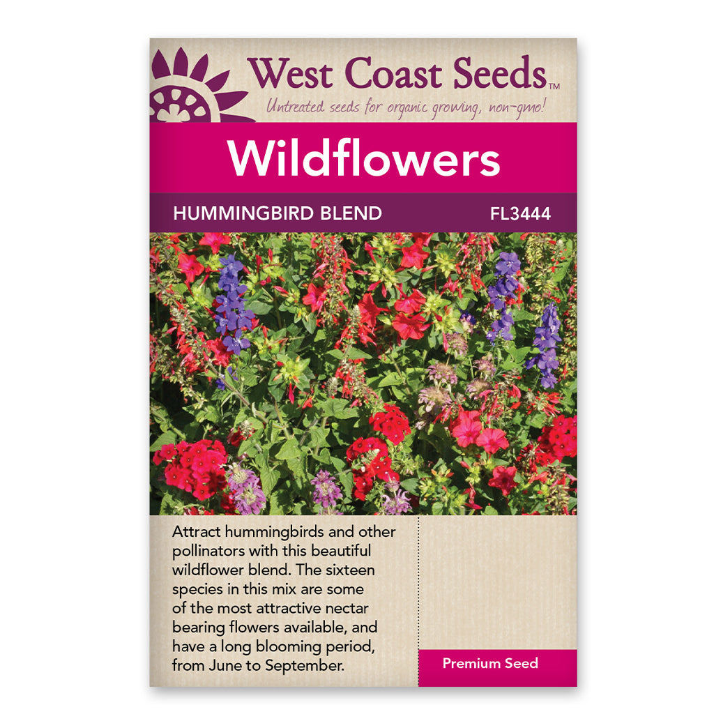Wildflowers Hummingbird Blend Seeds