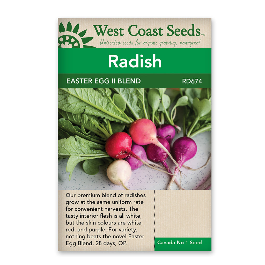Radishes Easter Egg Il Seeds